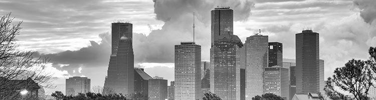 Houston Skyline de Lachica Law Firm