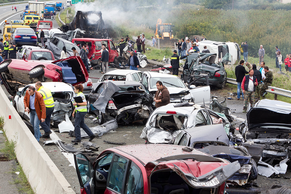 Determing Liability In A Multi-Vehicle Wreck