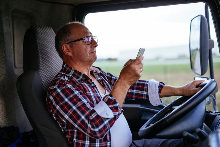 distracted truck drivers de lachica law firm