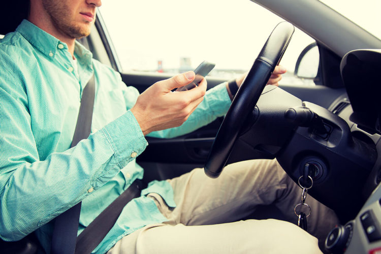distracted driving risks de lachica law firm